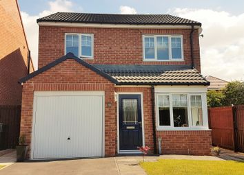 Thumbnail 3 bedroom detached house for sale in Baron Close, Stainsby Hall Park, Middlesbrough
