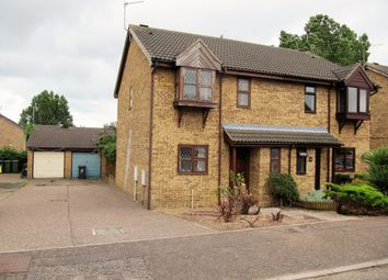 Thumbnail 3 bed semi-detached house for sale in Kittiwake Close, Bradwell, Great Yarmouth