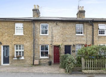 Thumbnail 2 bed terraced house for sale in Waverley Road, Weybridge, Surrey