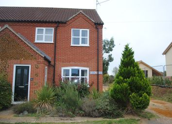 Thumbnail 3 bed terraced house to rent in Back Road, Pentney, King's Lynn