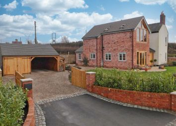 Thumbnail Detached house for sale in Newcastle Road, Woore, Shropshire