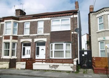 Thumbnail 3 bed terraced house to rent in Buchanan Road, Wallasey, Wirral