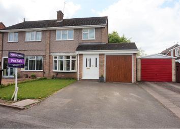 Thumbnail 3 bed semi-detached house for sale in Earlsway, Stafford
