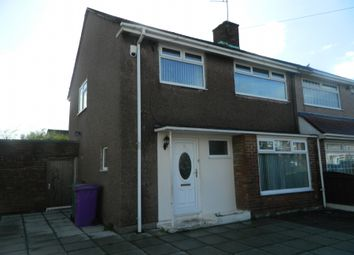 Thumbnail 3 bed semi-detached house to rent in Lulworth Road, Liverpool