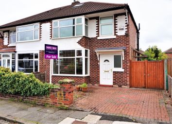 Thumbnail 3 bed semi-detached house for sale in Desford Avenue, Chorlton