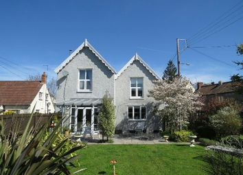 Thumbnail 4 bed detached house for sale in The Laurels, New Road, Churchill, Winscombe
