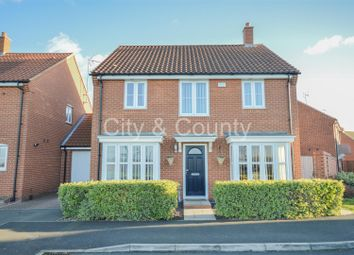 Thumbnail 4 bed link-detached house for sale in Poppy Close, Yaxley, Peterborough