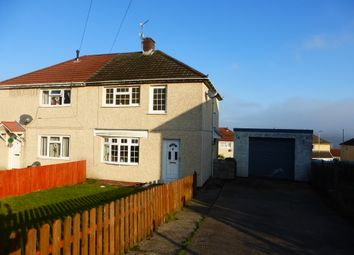 Thumbnail 3 bedroom semi-detached house for sale in Pearson Crescent, Glyncoch, Pontypridd