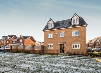 Thumbnail 4 bed detached house for sale in Moss Lane, Worsley, Manchester, Greater Manchester