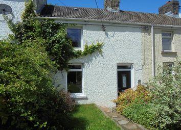 Thumbnail 2 bed terraced house to rent in Alma Terrace, Aberkenfig, Bridgend, Bridgend County.