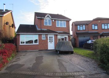Thumbnail 3 bed detached house for sale in Browns Way, Whetstone, Leicester