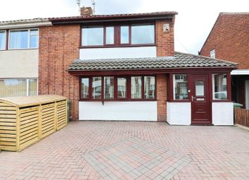 Thumbnail 3 bed semi-detached house for sale in Glendale Road, Mosley Common, Worsley, Manchester