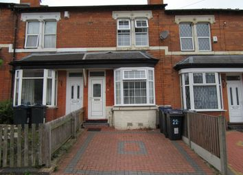 Thumbnail 3 bed terraced house for sale in William Cook Road, Alum Rock, Birmingham, West Midlands
