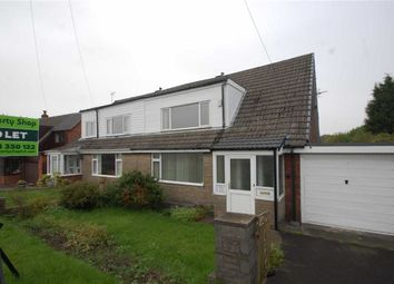 Thumbnail 2 bed semi-detached bungalow to rent in Churchill Avenue, Rishton, Blackburn