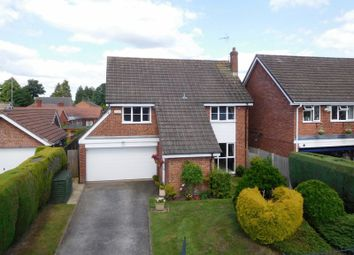 Thumbnail 4 bed detached house for sale in Aldford Close, Hough, Crewe