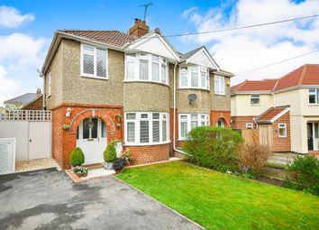 Thumbnail 3 bedroom semi-detached house for sale in Hillside Avenue, Swindon