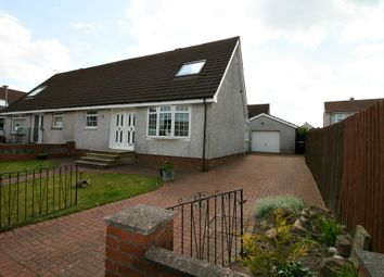 Thumbnail 3 bed semi-detached house for sale in Bute Crescent, Shotts