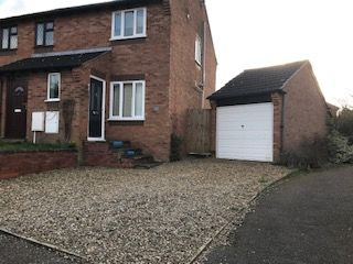2 bed semi-detached house to rent in Giles Road, Spixworth, Norwich NR10