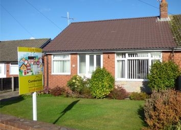 Thumbnail 2 bed semi-detached bungalow for sale in Northwood Crescent, Carlisle, Cumbria
