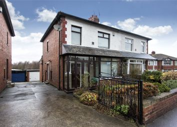 Thumbnail 3 bed semi-detached house for sale in Leeds Road, Shaw Cross, Dewsbury, West Yorkshire