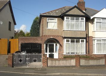 Thumbnail 3 bed semi-detached house for sale in Portway Rd, Bilston