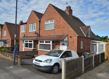 Thumbnail 2 bed semi-detached house for sale in Olive Grove, Chaddesden, Derby