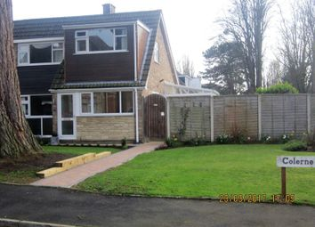 Thumbnail 4 bed semi-detached house for sale in Colerne Drive, Hucclecote, Gloucester