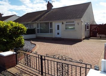 Thumbnail 2 bed bungalow to rent in Bangor Crescent, Prestatyn