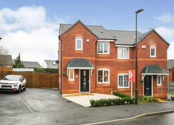 Thumbnail 3 bed semi-detached house for sale in Brick Kiln Drive, Hasland, Chesterfield, Derbyshire
