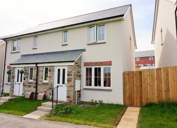 Thumbnail 3 bed semi-detached house for sale in Pippin Avenue, Trevethan Meadows, Liskeard