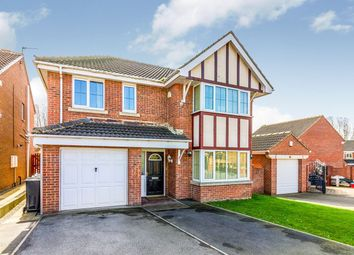 Thumbnail 4 bedroom detached house for sale in Long Cliffe Close, Shafton, Barnsley, South Yorkshire