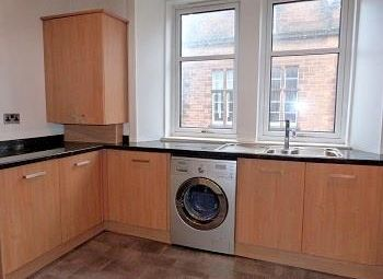 Thumbnail 1 bed flat to rent in Stewart's Place, Caledonian Road, Perth