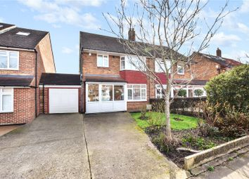 Glenhurst Avenue, Bexley Village, Kent DA5. 3 bed semi-detached house for sale