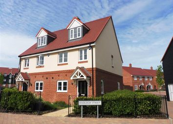Thumbnail 3 bed property to rent in Hadleigh Street, Kingsnorth, Ashford