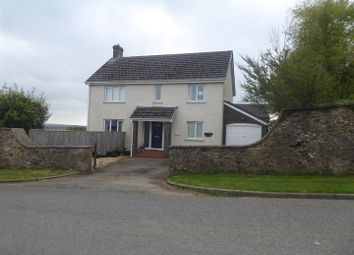 Thumbnail 4 bed detached house for sale in Claremont House, Scarrowscant Lane, Haverfordwest