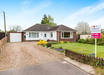Thumbnail 3 bed detached bungalow for sale in Hills Road, Saham Toney, Thetford