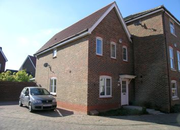 Thumbnail 3 bed end terrace house to rent in Kingfisher Road, Bury St. Edmunds