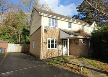 Thumbnail 3 bed semi-detached house for sale in Trafalgar Close, Newton Abbot