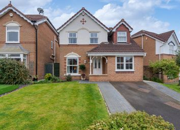 Thumbnail 4 bed detached house for sale in Wellburn Close Middle Hulton, Bolton, Lancashire.