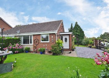 Thumbnail 2 bed semi-detached bungalow for sale in Hollingthorpe Grove, Hall Green, Wakefield