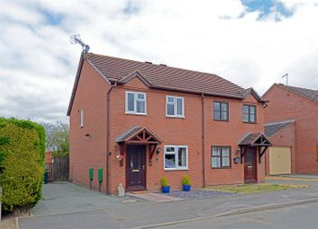Thumbnail 2 bed semi-detached house for sale in Park Meadow, Minsterley, Shrewsbury