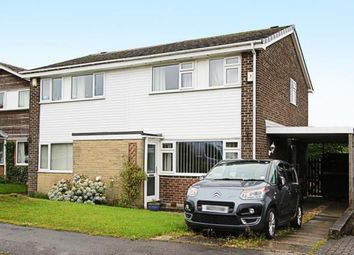 Thumbnail 3 bed semi-detached house for sale in Arundel Close, Dronfield Woodhouse, Dronfield, Derbyshire