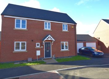 Thumbnail 3 bed detached house for sale in Lapwing Drive, Birstall, Leicester