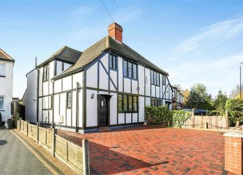 Thumbnail 4 bedroom semi-detached house for sale in Wrythe Lane, Carshalton