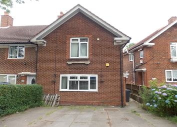 Thumbnail 3 bed terraced house for sale in Swancote Road, Stechford, Birmingham
