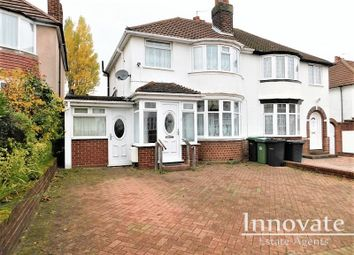 Thumbnail 3 bed semi-detached house to rent in Oak Crescent, Tividale, Oldbury