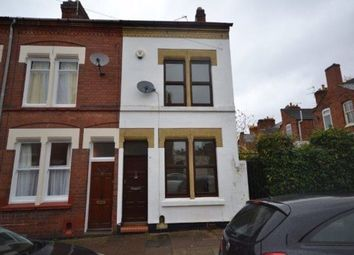 Thumbnail 2 bedroom terraced house to rent in Cecilia Road, Clarendon Park, Leicester