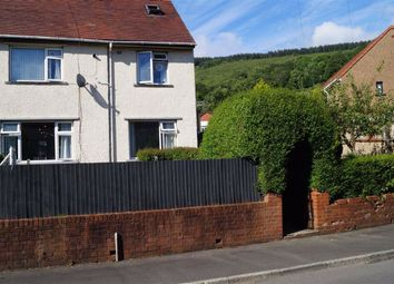 Thumbnail 3 bed semi-detached house for sale in The Poplars, Mountain Ash