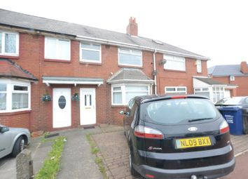 Thumbnail 3 bed terraced house to rent in The Spinney, Newton Place, High Heaton, Newcastle Upon Tyne
