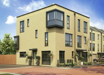 "Thumbnail 3 bed semi-detached house for sale in ""The Greyfriars Corner"" at Quayside, Chatham Maritime, Chatham"
